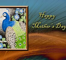 Mother's Day Peacock by jkartlife