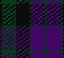 00088 MacKay Clan Tartan Fabric Print Iphone Case by Detnecs2013