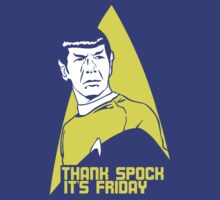 Thank Spock it's Friday by cupcakecity