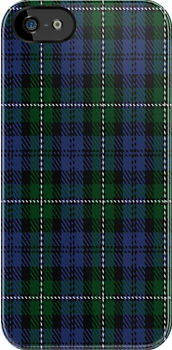 00091 Forbes Clan Tartan Fabric Print Iphone Case by Detnecs2013
