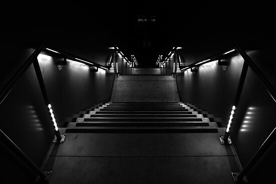 STAIRWAY INTO DARKNESS by Paul Quixote Alleyne