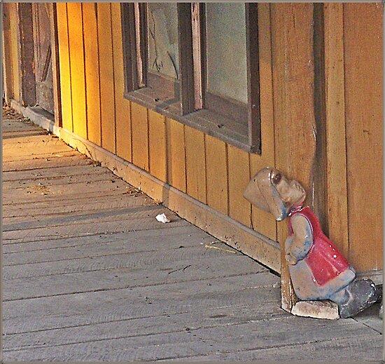 Dozing At The Corner by Paul Lubaczewski