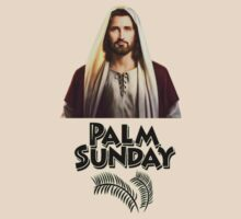 Palm Sunday Jesus  by tia knight