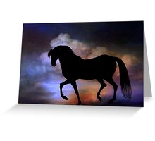 The magic horse..... Greeting Card