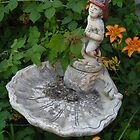 Fire Hat Boy Bird Bath by TCbyT