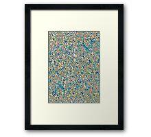 Informel Art Abstract Framed Print