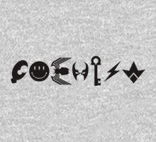 COEXIST - black by DesignBySix
