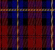 00093 Aitken Clan Tartan Fabric Print Iphone Case by Detnecs2013