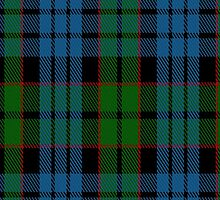 00096 Fletcher Clan Tartan Fabric Print Iphone Case by Detnecs2013