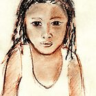 Tania Lucia, Mayan girl by Tania Williams
