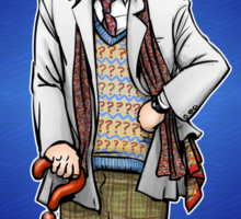 The Doctor - No. 7 Sticker