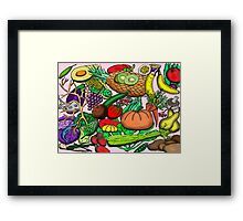 Food Glorious Food Framed Print
