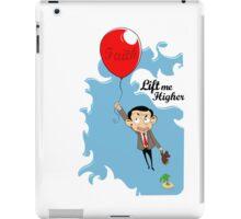 Mr. Bean in Faith Baloon iPad Case/Skin