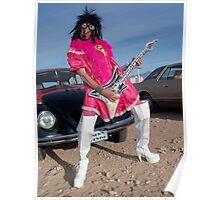 The Queen of Rock Poster