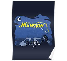 The Mansion Distressed Poster