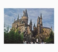 Harry Potter Hogwarts by kirstyfowler