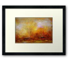 Russet Lane'... Framed Print