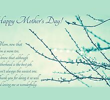Thanks for Being a Great Mom (Mother's Day Card) by Tracy Friesen