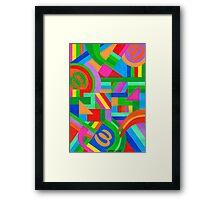 JUST SOME FIGURES 03 Framed Print