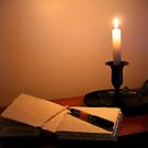 Writing by Candlelight by karineverhart