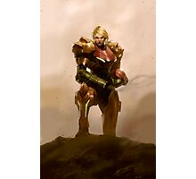 Portrait of a Bounty Hunter Photographic Print