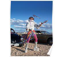 Astro Juggler Poster