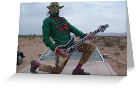 Yoda Air Guitar Hero by jollykangaroo