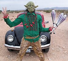 Yoda Peace Juggler by jollykangaroo