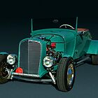 1928 Ford Roadster Hot Rod by TeeMack