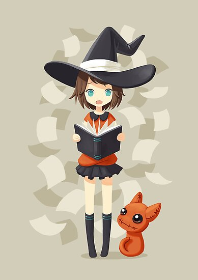 Little Witch 2 by freeminds