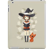 Little Witch 2 iPad Case/Skin