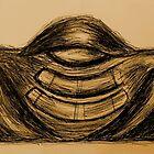 """""""Meditator gold"""" by Geoff Bell-Devaney"""
