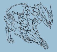 """LQ-84i """"Bladewolf"""" by Anubins"""