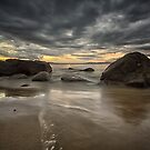 Taroona Beach Sunrise, Tasmania #10 by Chris Cobern
