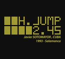 Javier SOTOMAYOR - High Jump - 1993 by NicoWriter