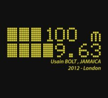 Usain BOLT - 100m - 2012 by NicoWriter