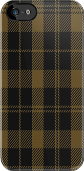00177 Tyneside District Tartan Fabric Print Iphone Case by Detnecs2013