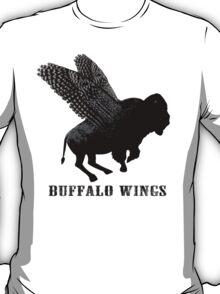 Buffalo Wings Flying Buffalo T-Shirt