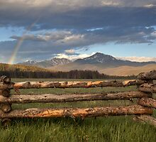 Byer's Peak Rainbow, Grand County Colorado by RobGreebonPhoto