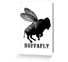 BuffaFly Buffalo Fly Greeting Card