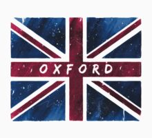 Oxford British Union Jack Flag by Mark Tisdale