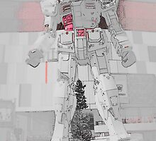 Gundam Red by Fike2308