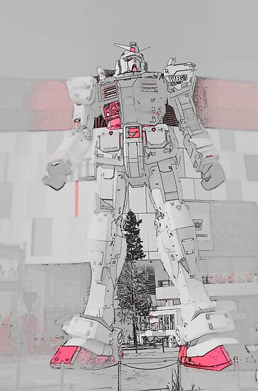 Gundam Red by Fike2308
