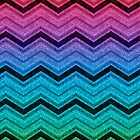 Rainbow chevron by mgraph