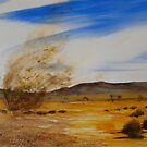 Willy Willy - Australian Outback by Kay Cunningham