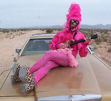 Pink Guitar Freak by jollykangaroo