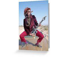 Rockin Air Guitar Greeting Card