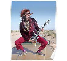 Rockin Air Guitar Poster