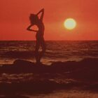 Sunset Girl by Francis Drake