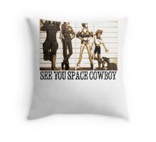Cowboy Bebop Throw Pillow